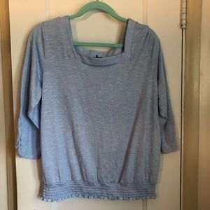 5@$20 Apt 9 Short Sleeve Light Blue Top Size XL